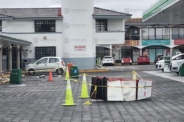 Asaltan en La Vista tienda, gasolinera y cajero automático