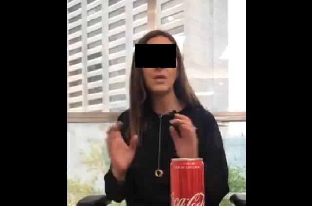 ¿Quién es Lady Coca Cola que se volvió viral en redes sociales?