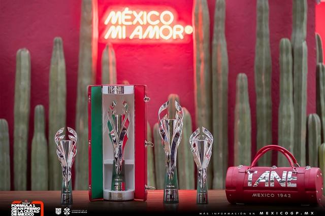 Gran Premio de México presenta los trofeos para la F1