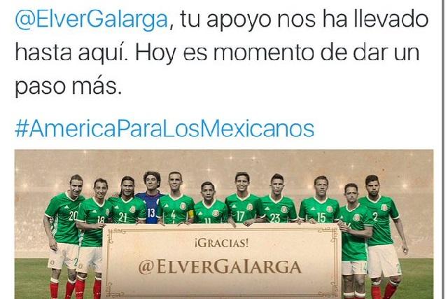 Trollean a la Selección Mexicana en Twitter
