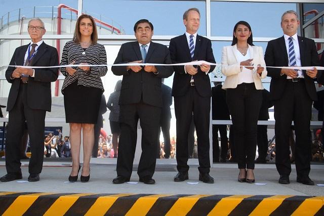 En Huejotzingo dan bienvenida a inversión de empresa TROX