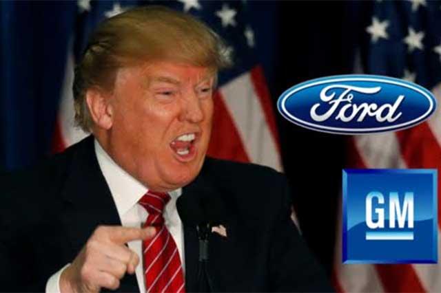 GM cede a presiones de Trump e invertirá mil mdd en EU