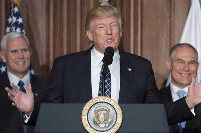 Donald Trump ordena terminar la guerra contra el  carbón