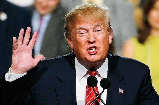 Trump califica de falsas, las encuestas que critican su veto a migrantes
