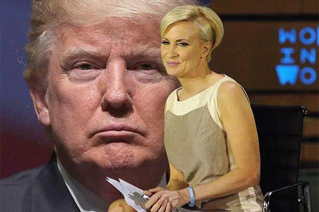 Trump llama estúpida a la presentadora de TV Mika Brzezinski