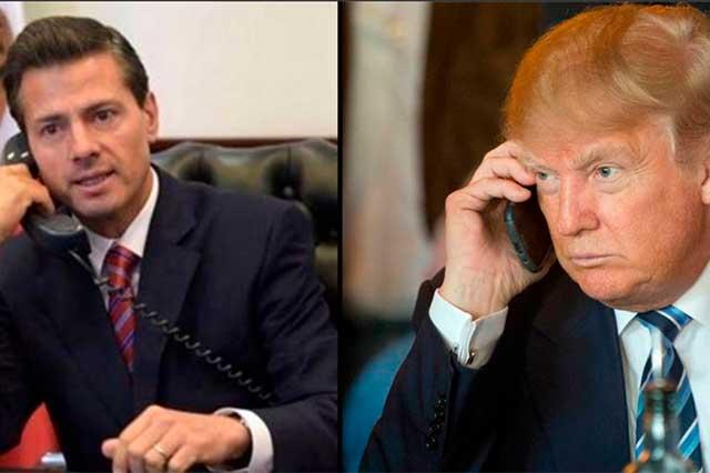 Según Trump, EPN está dispuesto a recibir ayuda contra los narcos