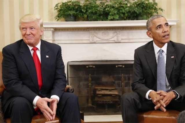 Trump se reúne con Obama y quiere que le dé consejos para gobernar EU
