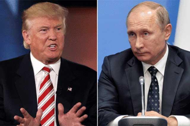 Inicia Trump acercamiento con Putin mediante llamada telefónica