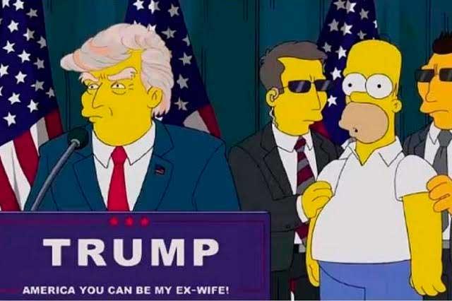 Oráculo amarrillo: Los Simpson predicen crisis por mandato de Trump