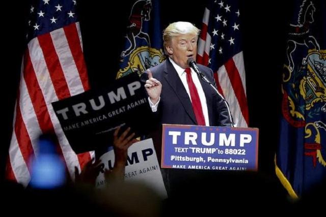 Trump ahora dice que EU financiará el muro y que México le reembolsará el dinero