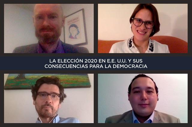 Analizan en UDLAP factores en la  elección presidencial de los EU