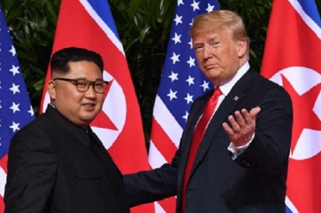 Donald Trump y Kim Jong Un se reúnen en Singapur