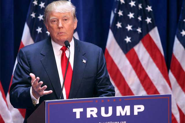 Dios bendiga a la Ciudad de México, se solidariza Donald Trump
