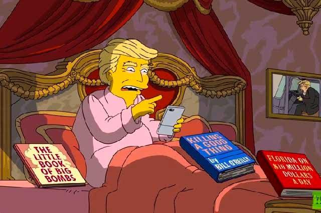 VIDEO: Los Simpson se mofan de gobierno de Donald Trump y de Ivanka