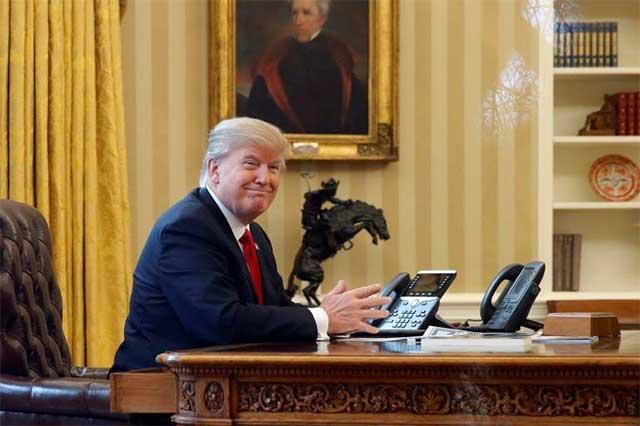 Trump no sabe si hay grabaciones de sus pláticas con el ex director del FBI