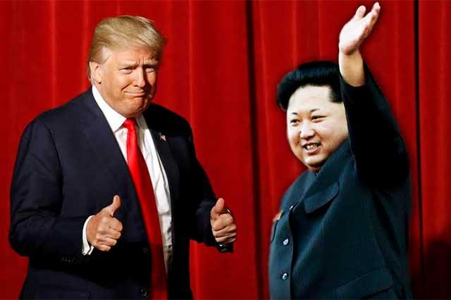 Trump asegura que sería un honor reunirse con el líder de Corea del Norte