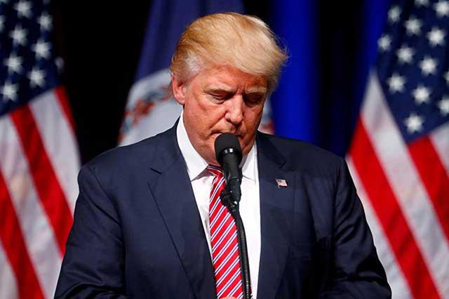 Trump envía sus condolencias a familiares de víctimas de masacre en Las Vegas