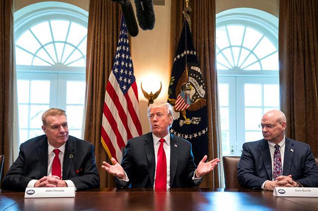 Trump ofrece bajar impuestos del acero si EU logra firmar un TLC justo