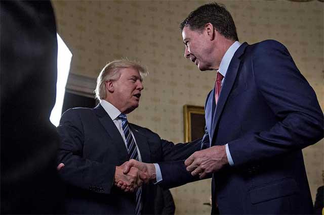 Trump ataca de nuevo a exdirector de FBI