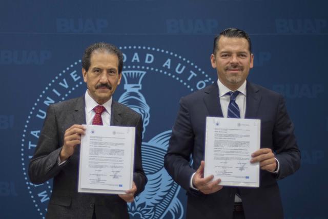 Firman convenio de colaboración BUAP y Tribunal Superior de Justicia