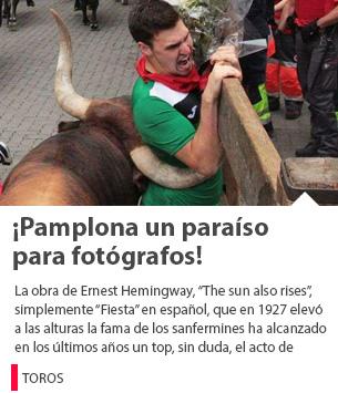 ¡Pamplona un paraíso para fotógrafos!