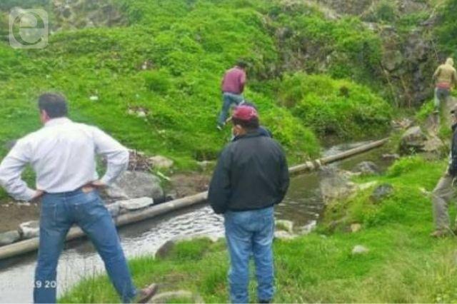 Cambian tubería de agua potable en dos comunidades de Atlixco