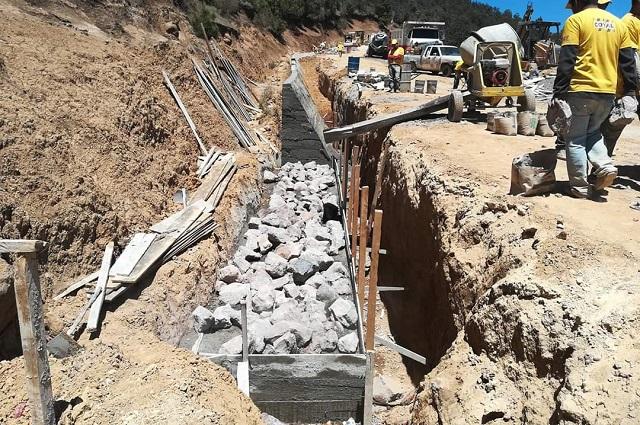 Buscan reemplazar 20.7 kilómetros lineales de tubería en Tehuacán