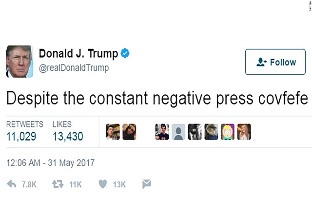 Congresista de EU propone una ley para documentar los tuits de Trump
