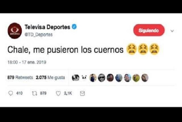 CM de Televisa se equivoca de cuenta y publica vergonzoso mensaje