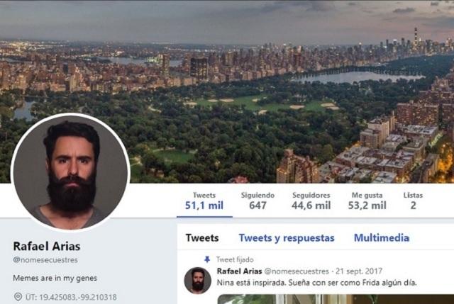 ¿Se suicidó tuitero Rafael Arias Menocal @nomesecuestres?