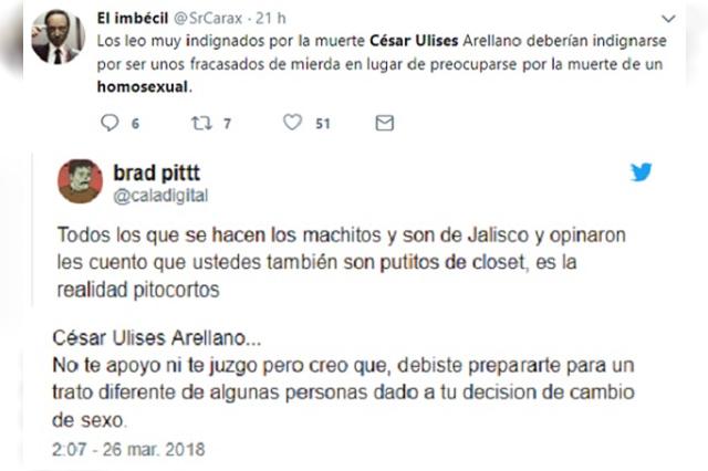 El hallazgo del cuerpo de César Ulises desata la homofobia en redes
