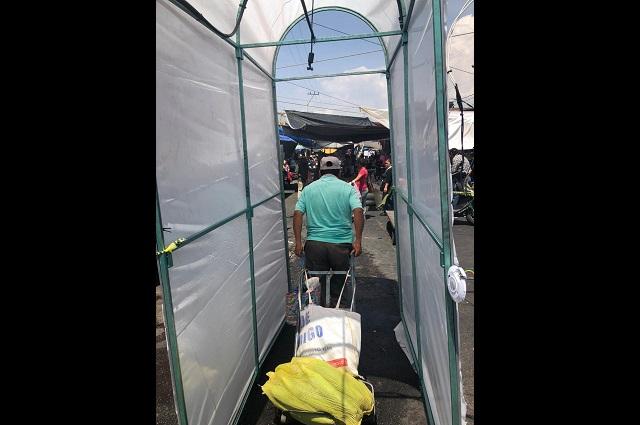 Túneles sanitizantes en Atlixco son una medida más: Rogelio Flores