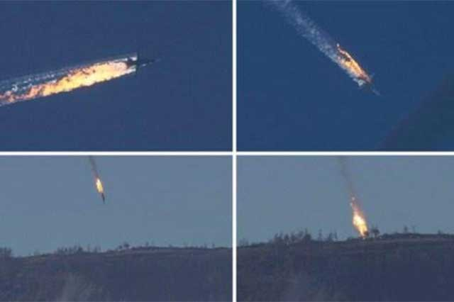 Turquía derriba bombardero ruso y hace enfurecer a Putin