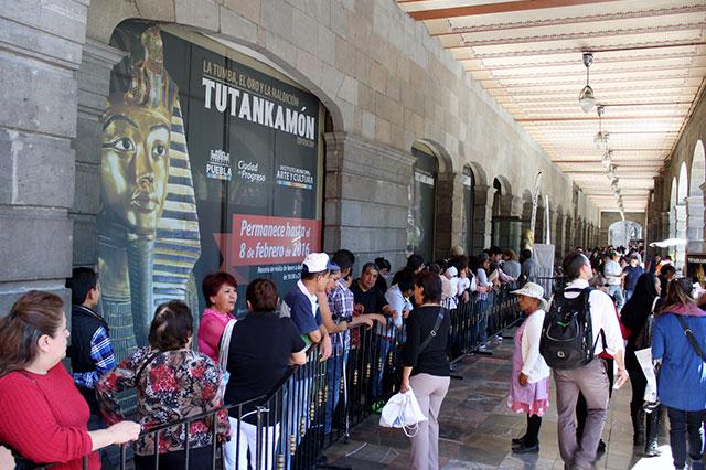 Visitaron la exposición de Tutankamon 200 mil personas