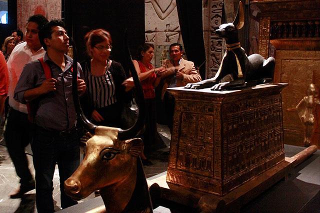 Se amplía hasta febrero la exposición de Tutankamón