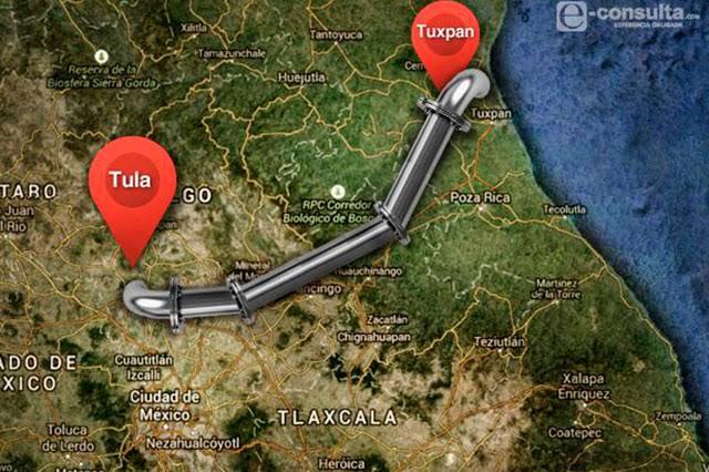Esperan a AMLO en Pahuatlán para exigirle cancele gasoducto