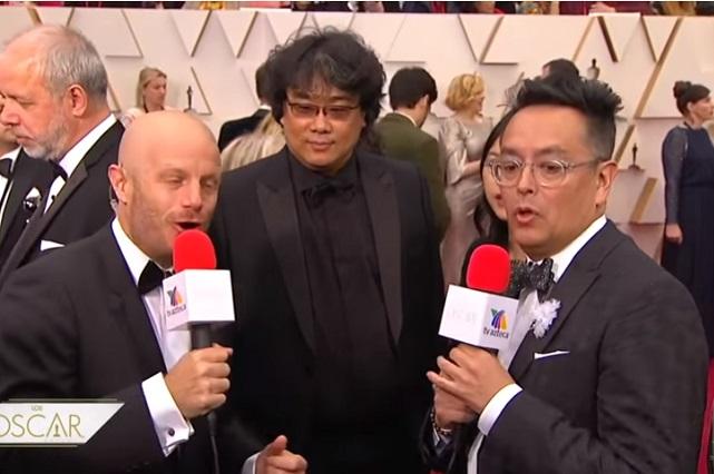 Tunden en redes a TV Azteca por la transmisión de los Oscar 2020