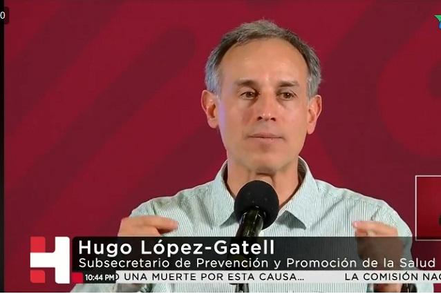 TvAzteca dice que Hugo López Gatell engañó a los mexicanos