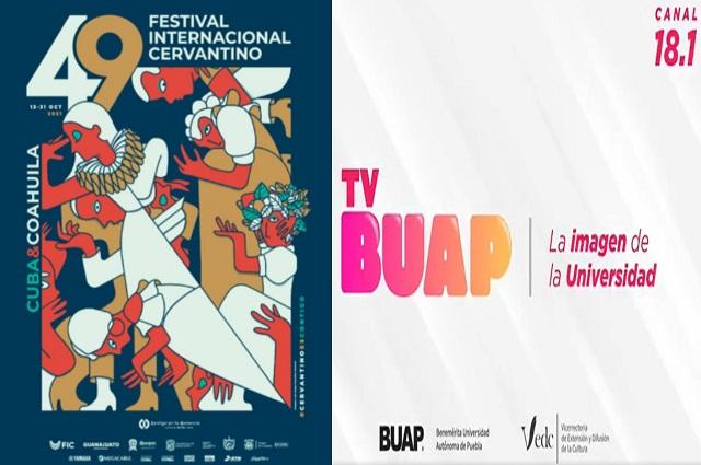 TV BUAP transmite Festival Cervantino
