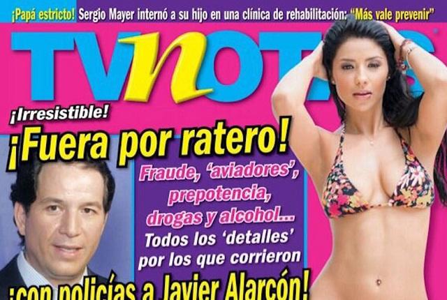 Clausuran oficinas de  TvNotas por solicitud de Javier Alarcón