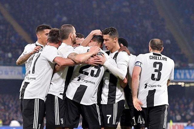 Juventus remonta con tres goles de Cristiano