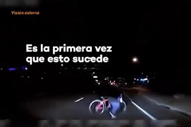Difunden en YouTube video de cómo Uber autónomo atropelló a una mujer