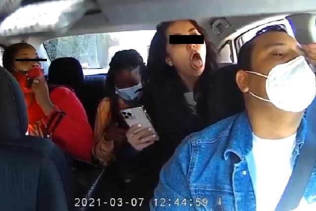 Detuvieron a una de las mujeres que atacaron a chofer de Uber