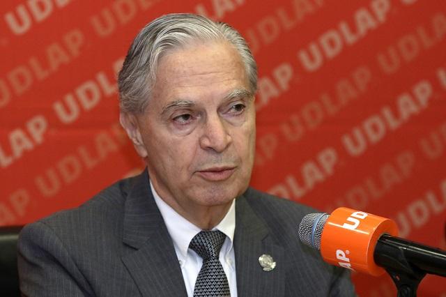 UDLAP confía en proyecto de seguridad de Barbosa: Derbez