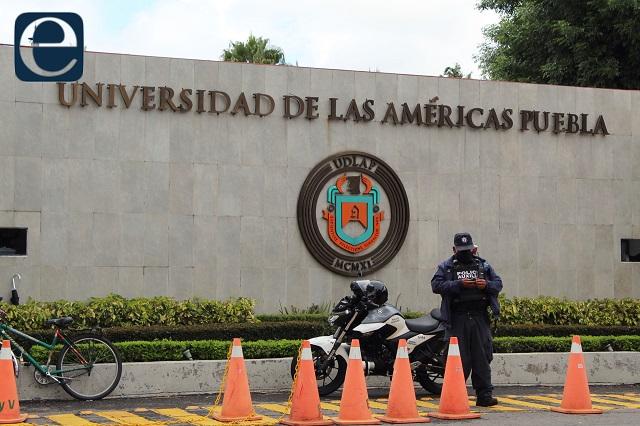 Grupos empresariales manipulan conflicto UDLAP, acusa Barbosa