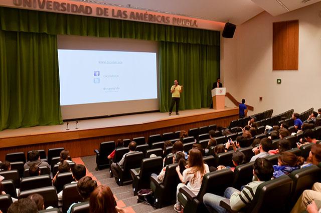 Abordan temas de tecnología en Generación de Cambio 2015,Udlap