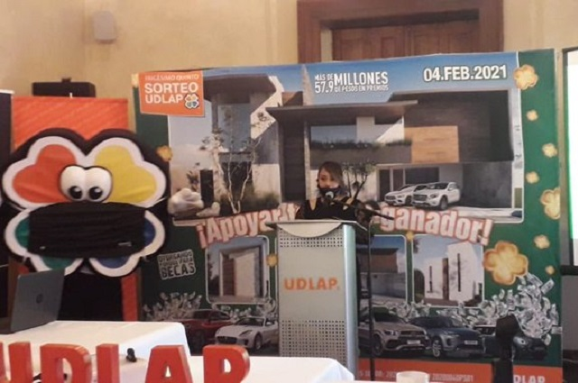 Pandemia no frena Sorteo UDLAP; ofrece 57.9 mdp en premios