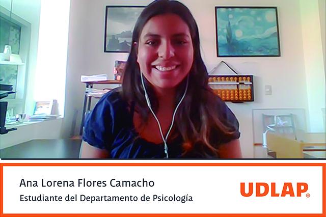 Alumna UDLAP lleva proyecto a congreso internacional de psicología