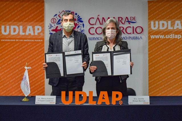 UDLAP y Canaco Puebla seguirán formando empresarios líderes