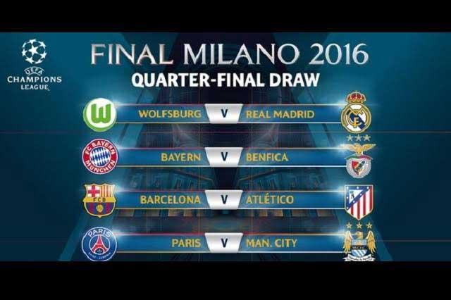 Champions League: Barcelona vs Atlético de Madrid